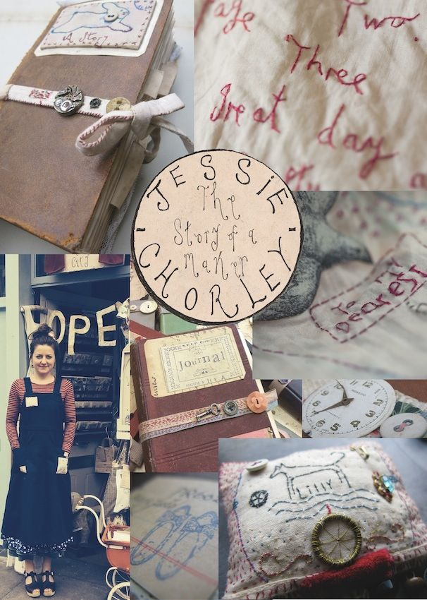 """Image of Jessie Chorley """"The story of a maker"""""""