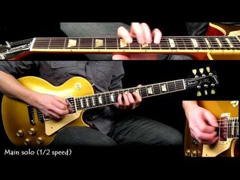 Stairway to Heaven guitar solo - HALF SPEED