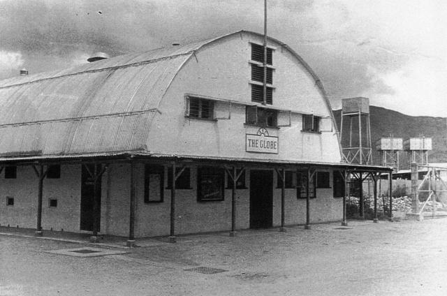 Sek Kong army camp cinema.。NT. Kowloon. Hong Kong. 1958. (石崗軍營 3)。1958年 (61年前)是軍營內的電影院。 (With images) | Show ...