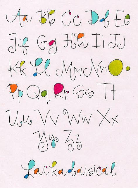 Alphabet   Lackadaisical                             by Robin                                                                                                                                                      More