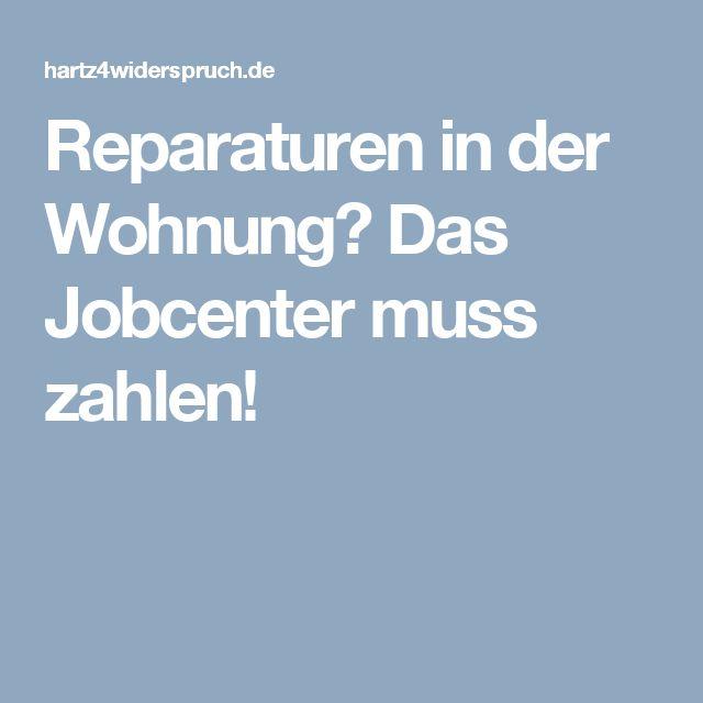 Reparaturen in der Wohnung? Das Jobcenter muss zahlen!