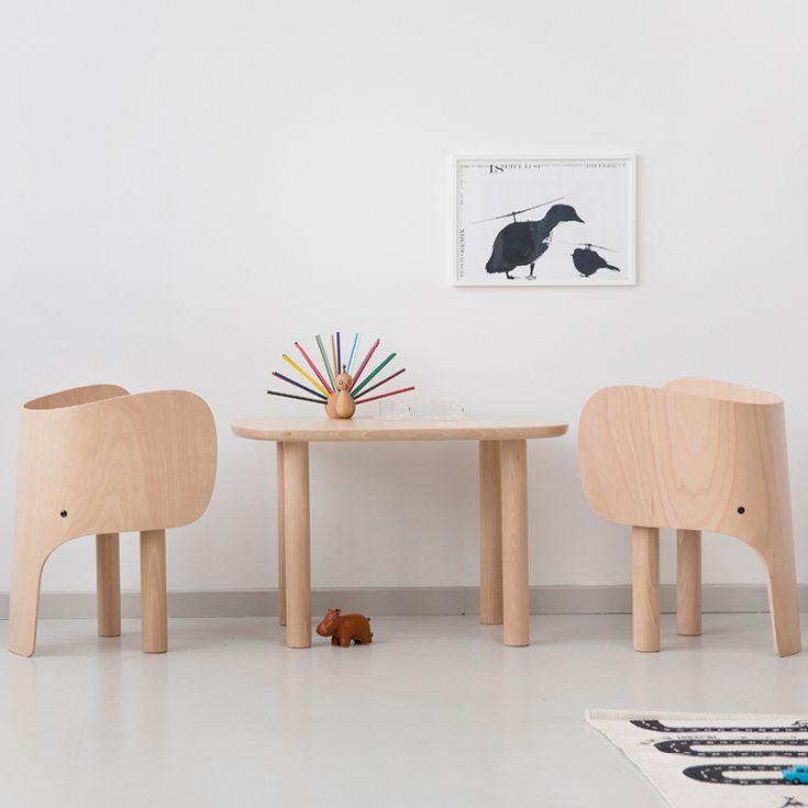 Super sød, elegant og eksklusiv træ elefant stol fra EO Elements Optimal. En god kombination af enkelhed og elegance, funktionalitet og komfort.
