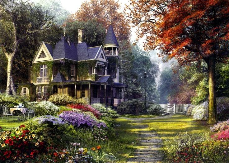Superior Victorian Garden (1000pc)