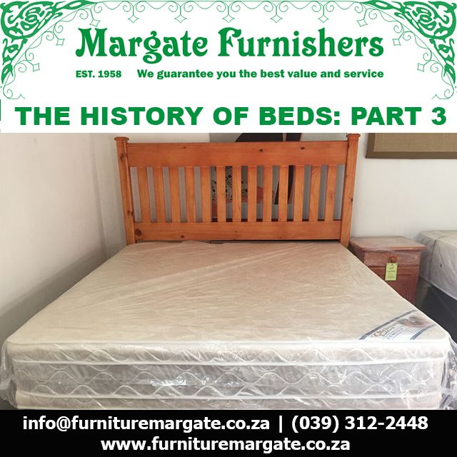 The history of the bed – Part 3 The steel coil spring is invented #MargateBeds http://bit.ly/1EVQBvF