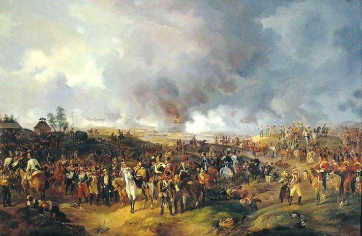 Заграничный поход 1813 года, октябрь, часть вторая. Битва народов. - КниЖЖка с картинками