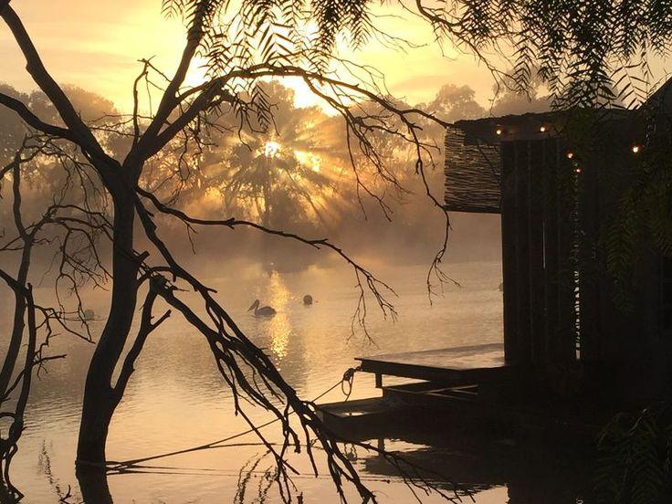 Bill's Boathouse - floating, a Murray Bridge Villa | Stayz