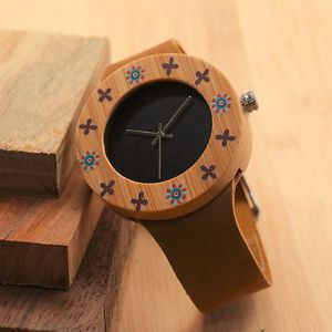 Women Watches Bamboo Watch for Ladies Japan Movement Quartz Bracelets Watch  | eBay