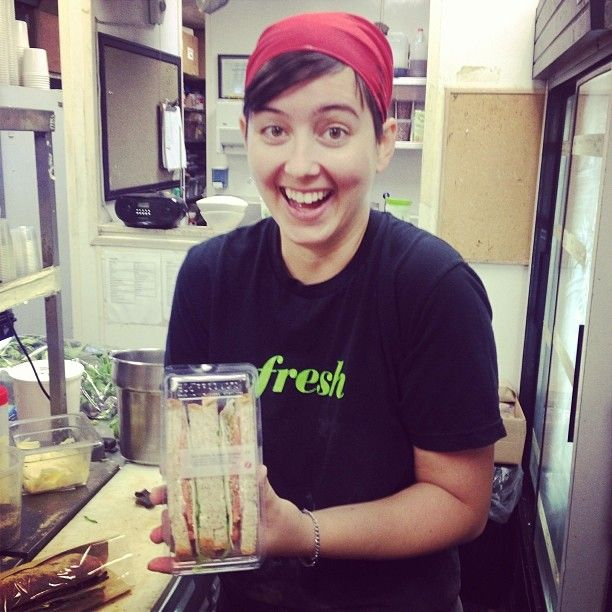 We love making sandwiches for your lunch!