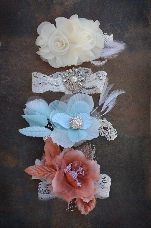 DIY vintage headbands for baby PIP