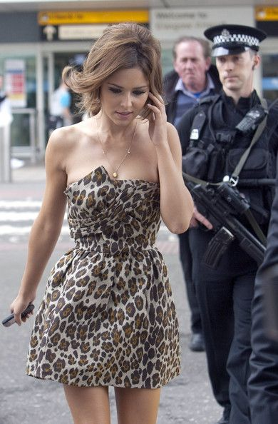 Cheryl Cole - Cheryl Cole at Glasgow Airport