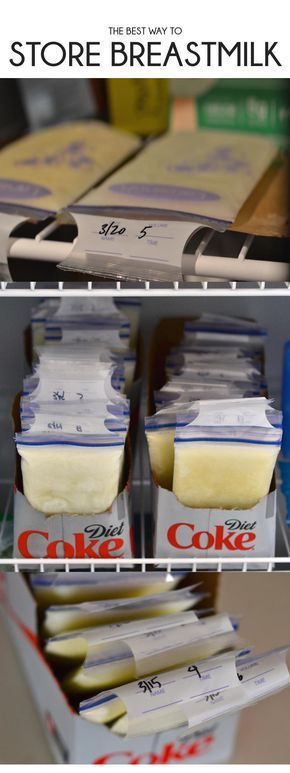 this is the best way to store breastmilk - a step by step guild on how to store breastmilk // lovelyluckylife.com