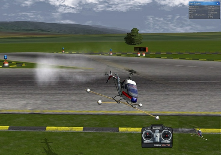 simulator RC helicopter