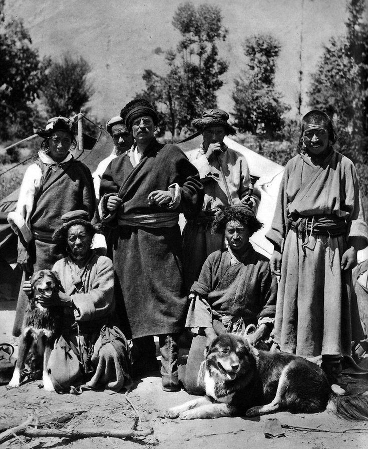 Sven Hedin in Tibet