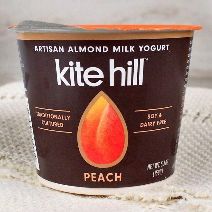 Kite Hill Organic Almond Milk Yogurt Peach