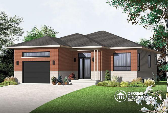 Plan de maison no. W3282 de dessinsdrummond.com