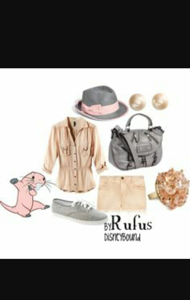 Disney kim possible rufus inspired Outfit