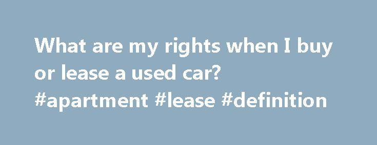 When A Car Dealer Won T Negotiate A Lease