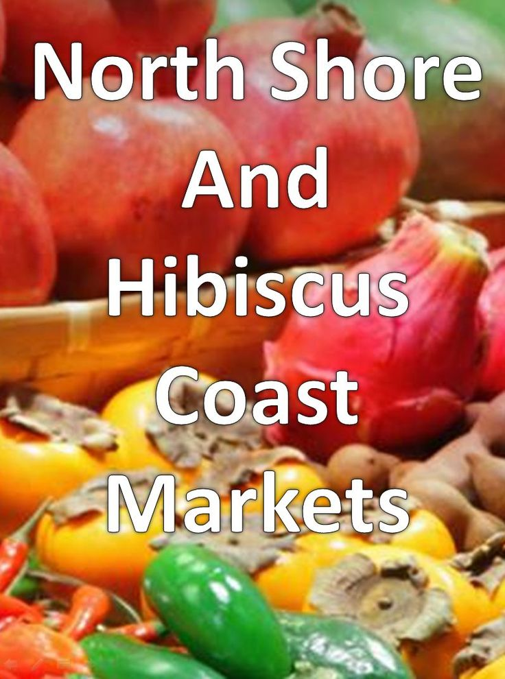 There are lots of great markets across the North Shore and Hibiscus Coast region of Auckland