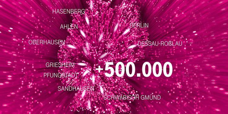Telekom Netzausbau: 500.000 weitere Haushalte mit VDSL Anschlüssen -Telefontarifrechner.de News