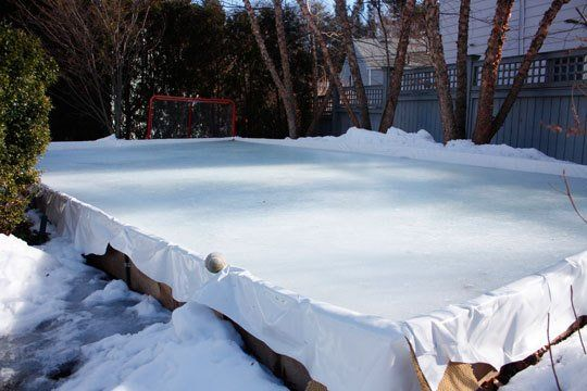 58 best Backyard rink images on Pinterest | Backyard ...