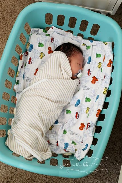 Sleep babies in a laundry basket until they are too big. You can move em anywhere and they still feel like they're in their bed