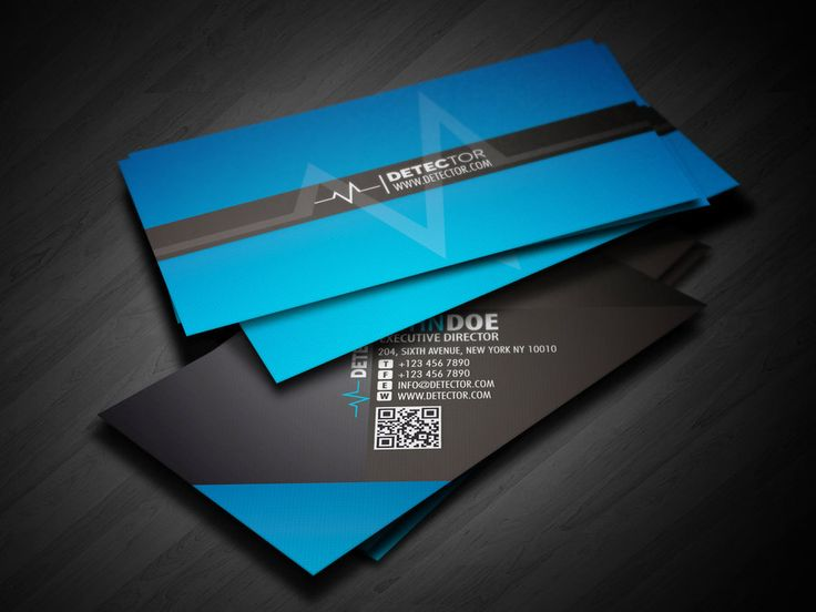 13 best business cards images on pinterest business cards carte buy now detector business card design using a textured stripe paper material as production using a color tone of blue in creating a more constrasting v reheart Gallery
