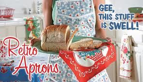 retro aprons - I'm not sure that I can put it into words but please get rid of them.