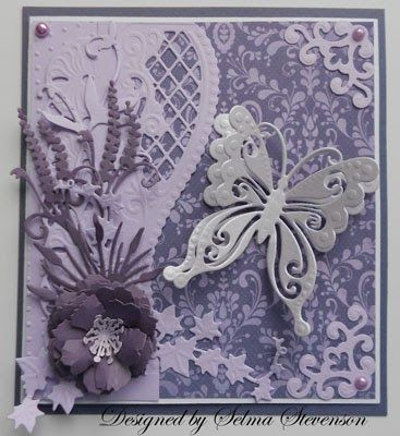 More new dies to show you today. I love this new  Marianne Design (CR1205) Butterfly  you can now purchase from Joan's Gardens . Isn'...