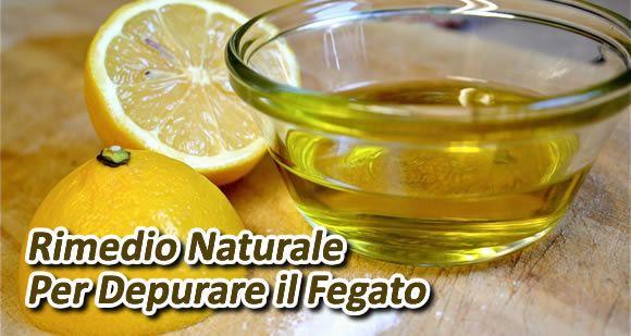 olio d'oliva e limone per depurare il fegato