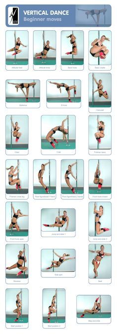Fitness : Pole Dancing : Vertical Dance : Beginner Moves ...... Kur <3