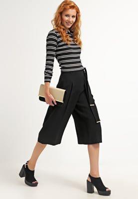 River Island FILIPA - Spodnie materiałowe - black za 151,2 zł (24.06.16) zamów bezpłatnie na Zalando.pl.