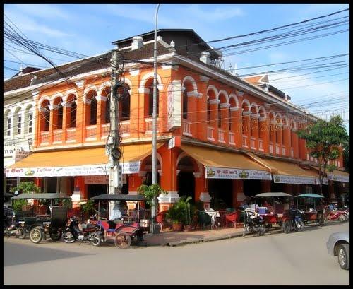 Siem Reap, Cambodia  French Quarter