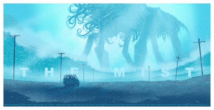 The Mist - Daniel Danger....... Cool Movie Art Find. Movie Monster. Movie Scene. Cthulhu like.