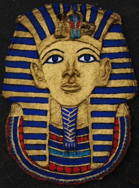 How to: Paper Mache Egyptian Mask