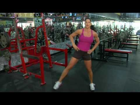 Check out this great fat burning + legs workout