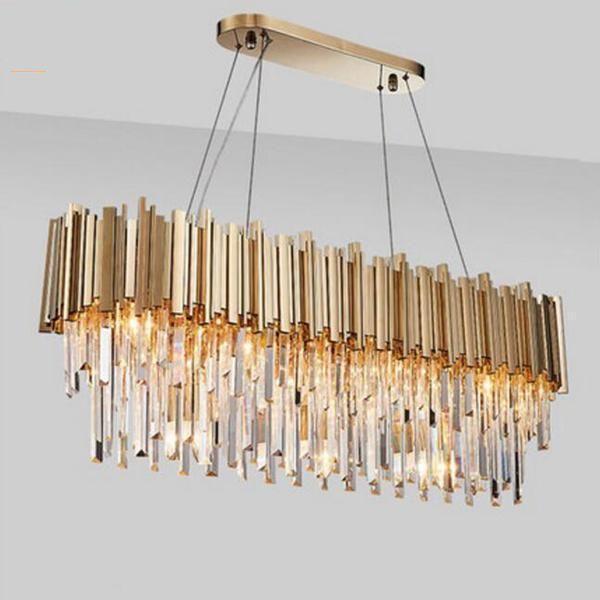 New Luxury Gold Crystal Chandelier Luxury Lamps Crystal Chandelier Luxury Chandelier