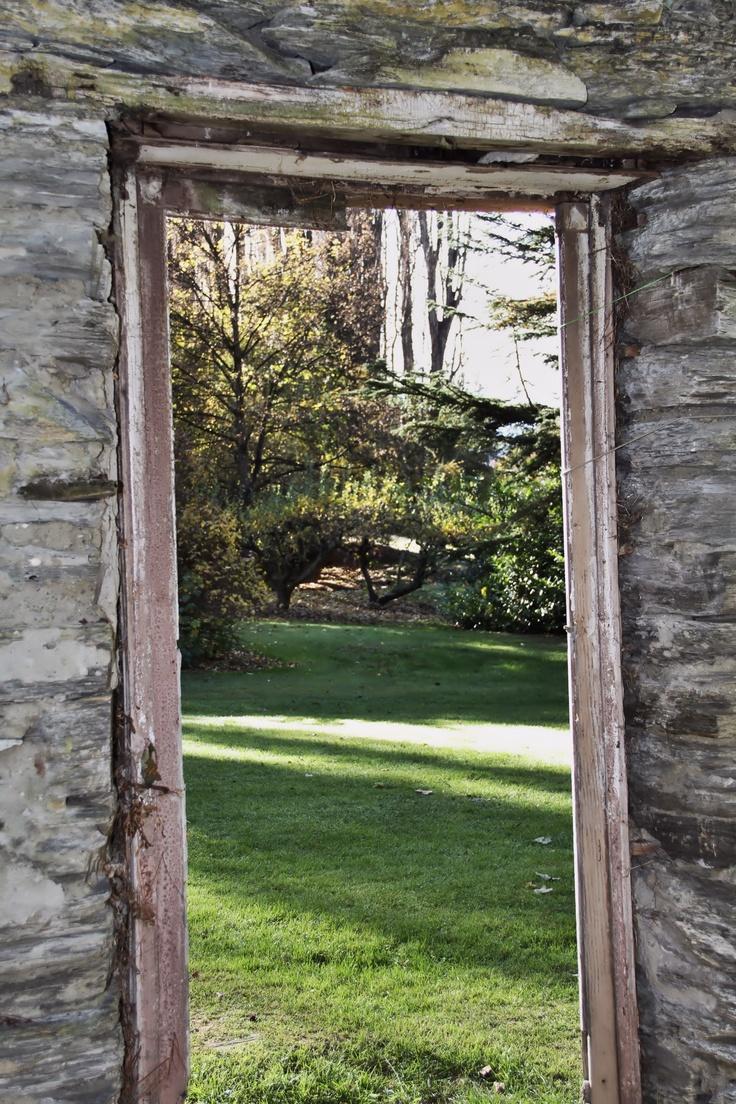 Old barn doorway, Central Otago, NZ