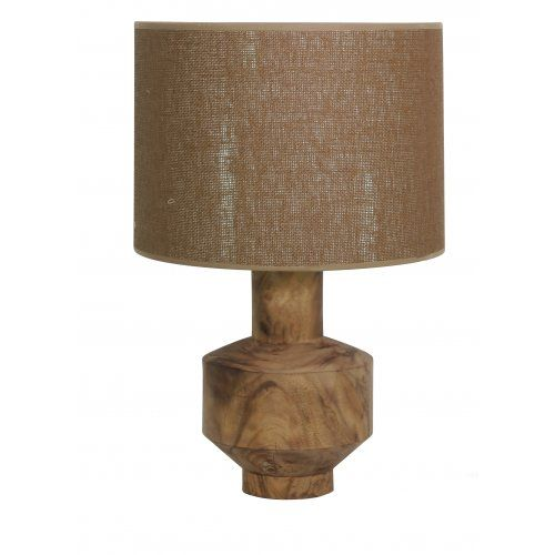 New shipment of stunning Natural Timber Table Lamps have just arrived - Arbus Lamp at the General Store Furniture Co