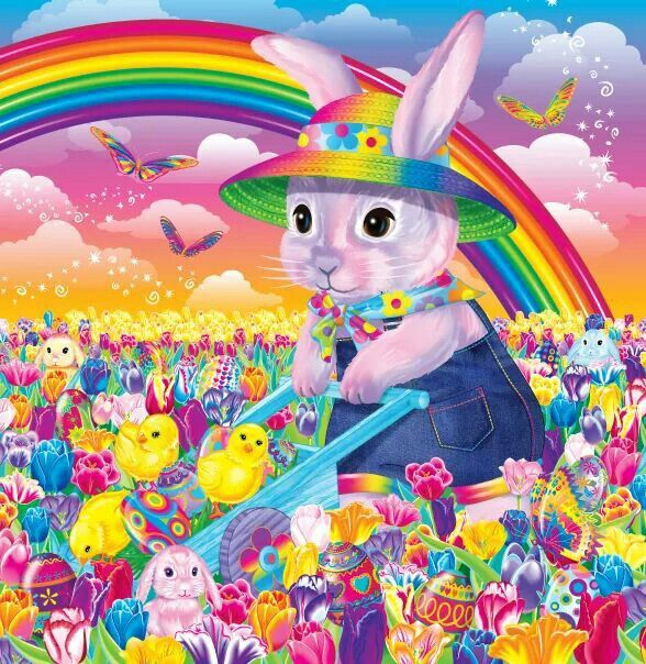 Happy Easter! artist Lisa Frank