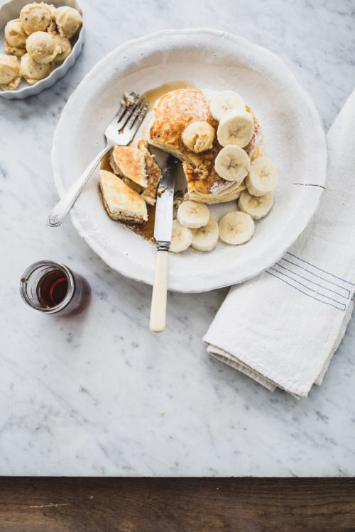 Ricotta Hotcakes with Honeycomb Butter
