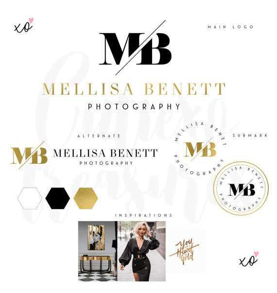 Fashion logo photography logo premade logo by CutiexoTreasures