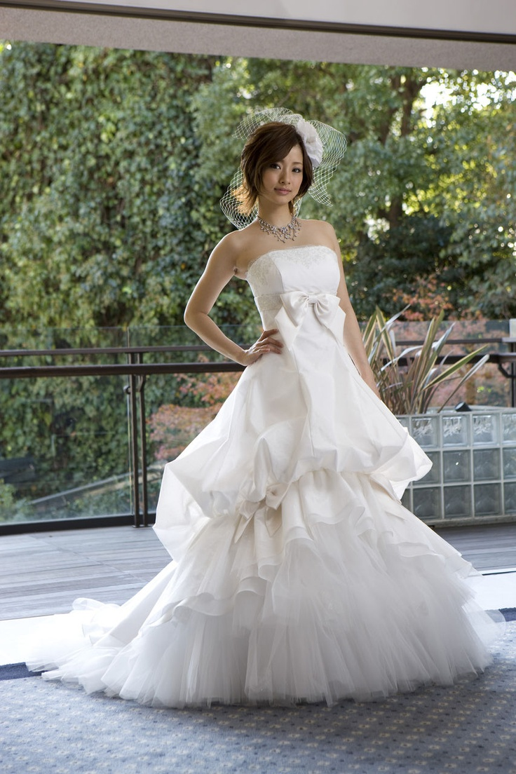 Ueto aya and hiro wedding dresses