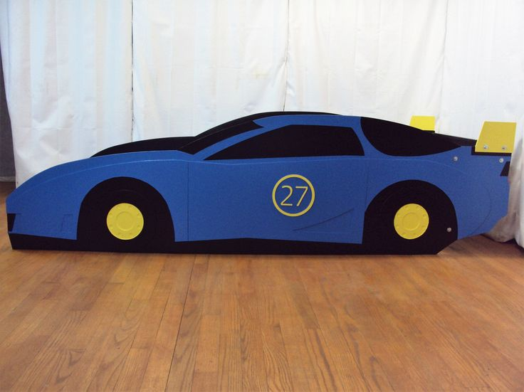 Race car bed frame