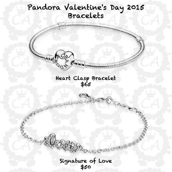 Pandora Valentines Day 2015 Bracelets Prices Heart Clasp Bracelet