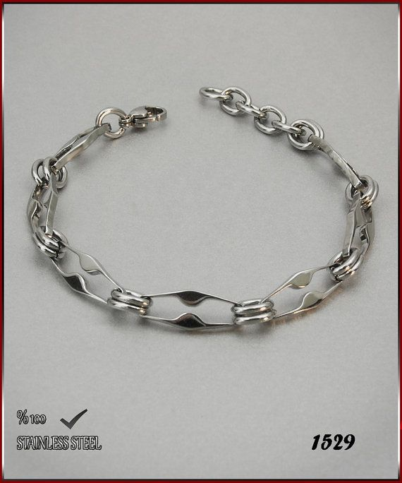 Axcesi 1529  Stainless steel chain bracelet thickness 7 by Axcesi