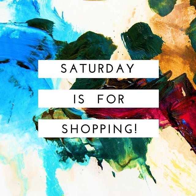 ... with us of course!  Saturday shopping, stay home, shop local! We'd be delighted to have you stop by.... #cpadlifestyle #shopping #online #easypeasy #shop #local #saturday #loveshopping #retailtherapy #hooray