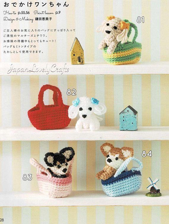 Amigurumi pattern crochet cat japanese amigurumi book | Etsy | 756x570