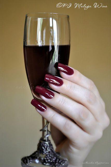 nailbamboo: OPI Malaga Wine