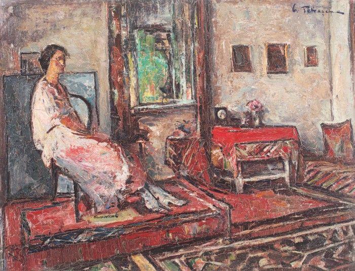 Gheorghe Petraşcu, Lucreţia în interior