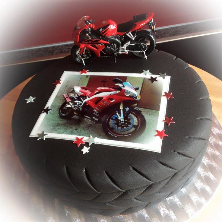 Motorradtorte Torte Motorrad Cake Motorbike Motorcycle